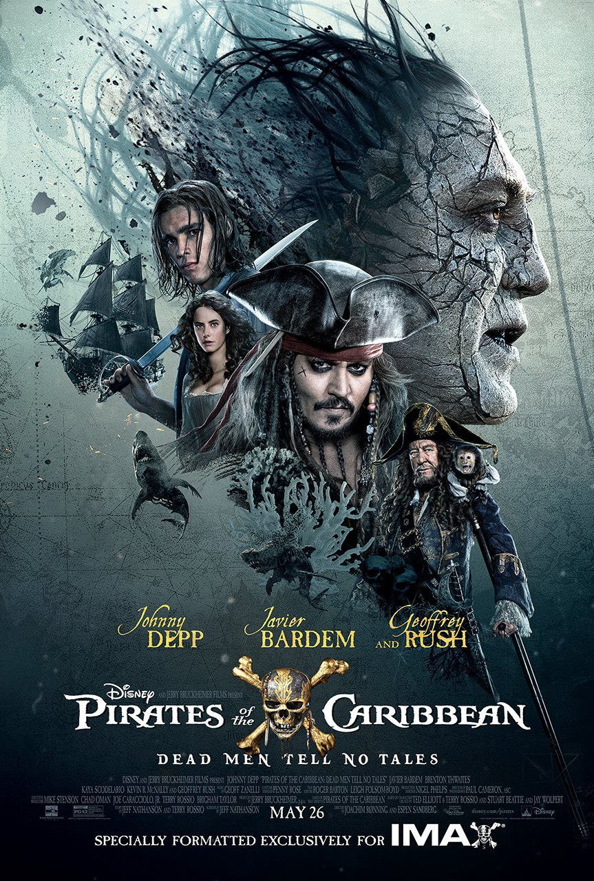 Affiche du film Pirates of the Caribbean : Dead Men Tell No Tales